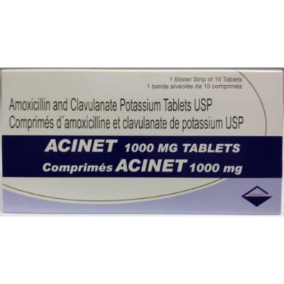 Acinet 1 g Comprimé