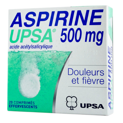 Acide Acétylsalicylique 500 mg